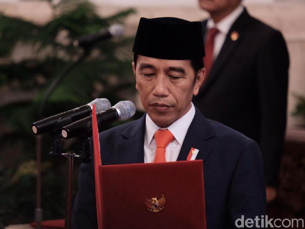 Mengingat Lagi Riwayat 4 Reshuffle Kabinet Jokowi di Hari Rabu