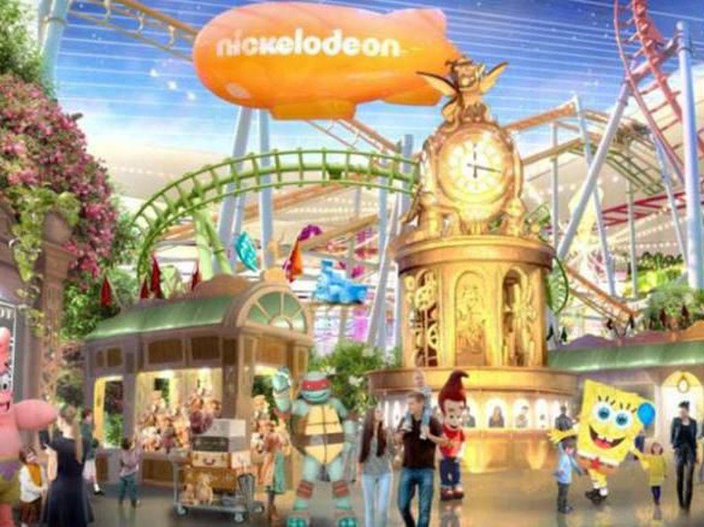 Berjumpa Karakter Nickelodeon di Nickelodeon Universe