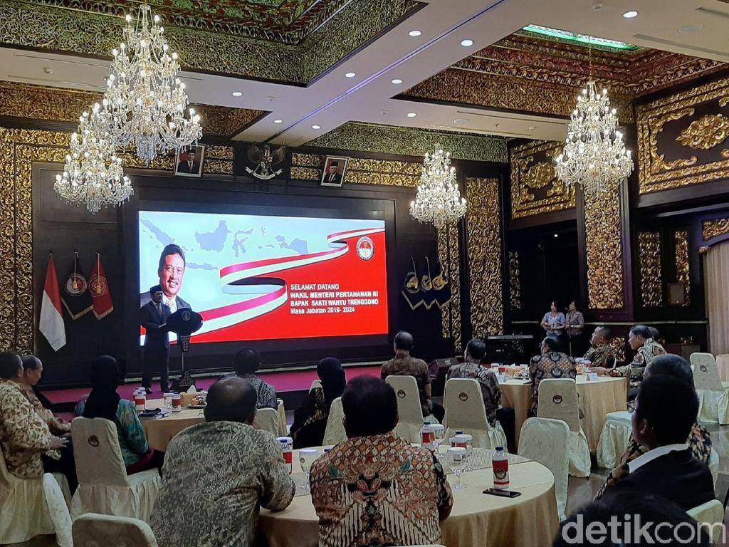 Balik ke Hambalang, Prabowo Tak Hadiri Acara Penyambutan Wamenhan