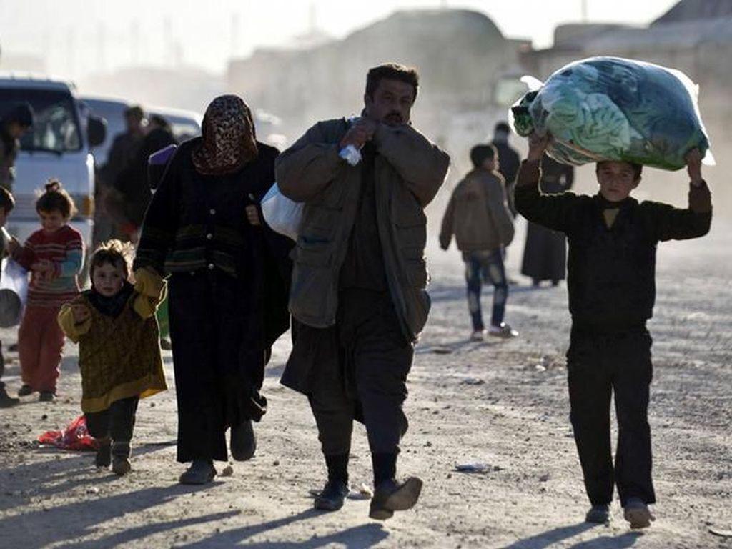 Amnesty International: Turki Paksa Pengungsi Suriah Kembali ke Zona Perang