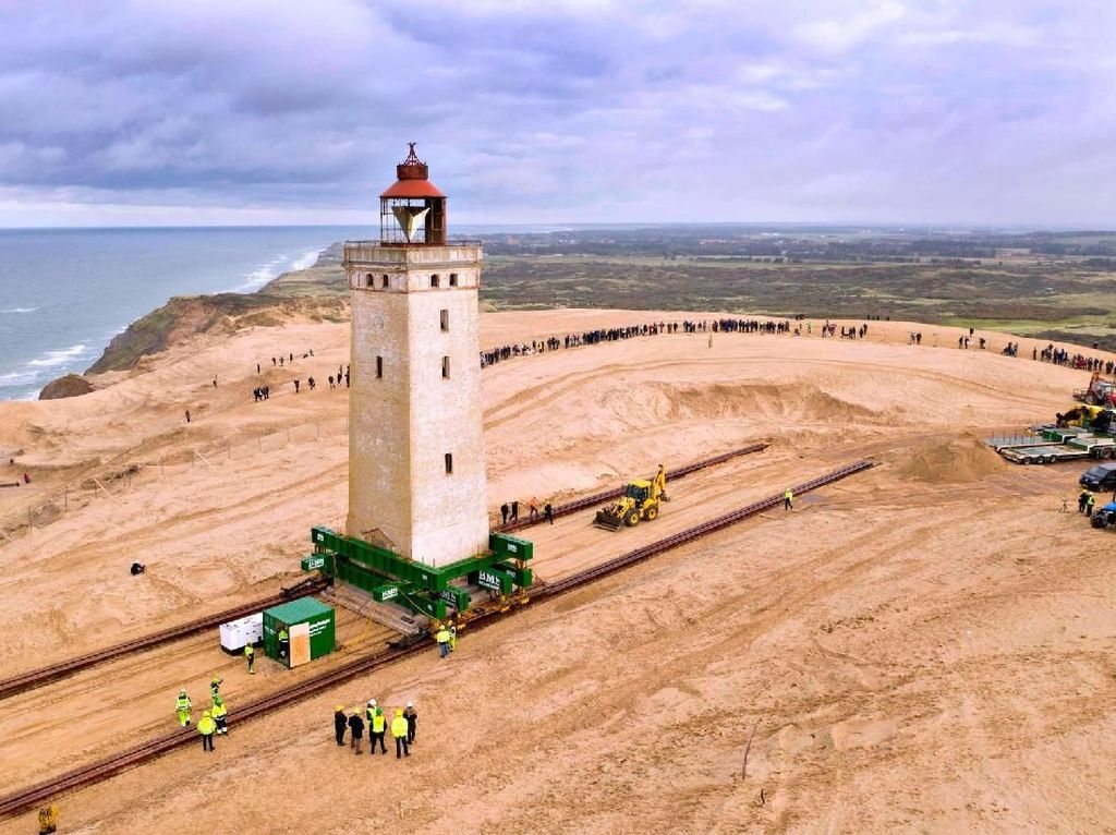 Foto: Cara Denmark Selamatkan Mercusuar Bersejarah