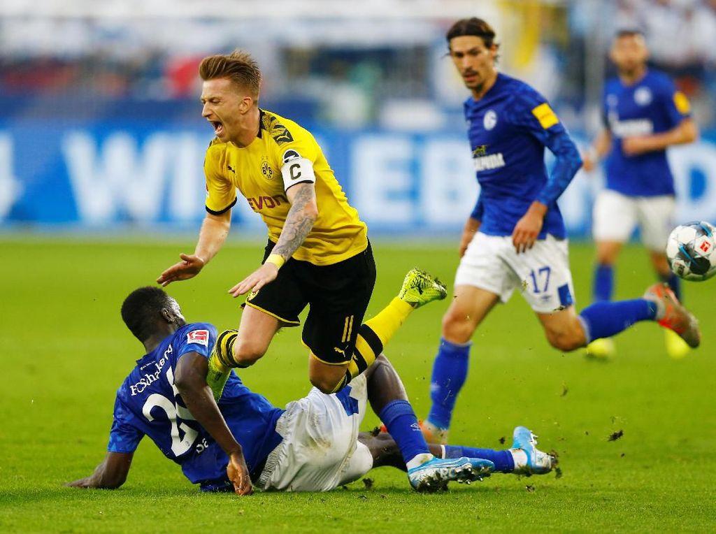 Schalke Vs Dortmund: Derby Ruhr Berakhir Tanpa Pemenang