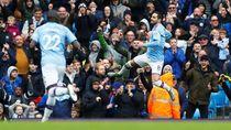 3 Gol Manchester City Menundukkan Aston Villa