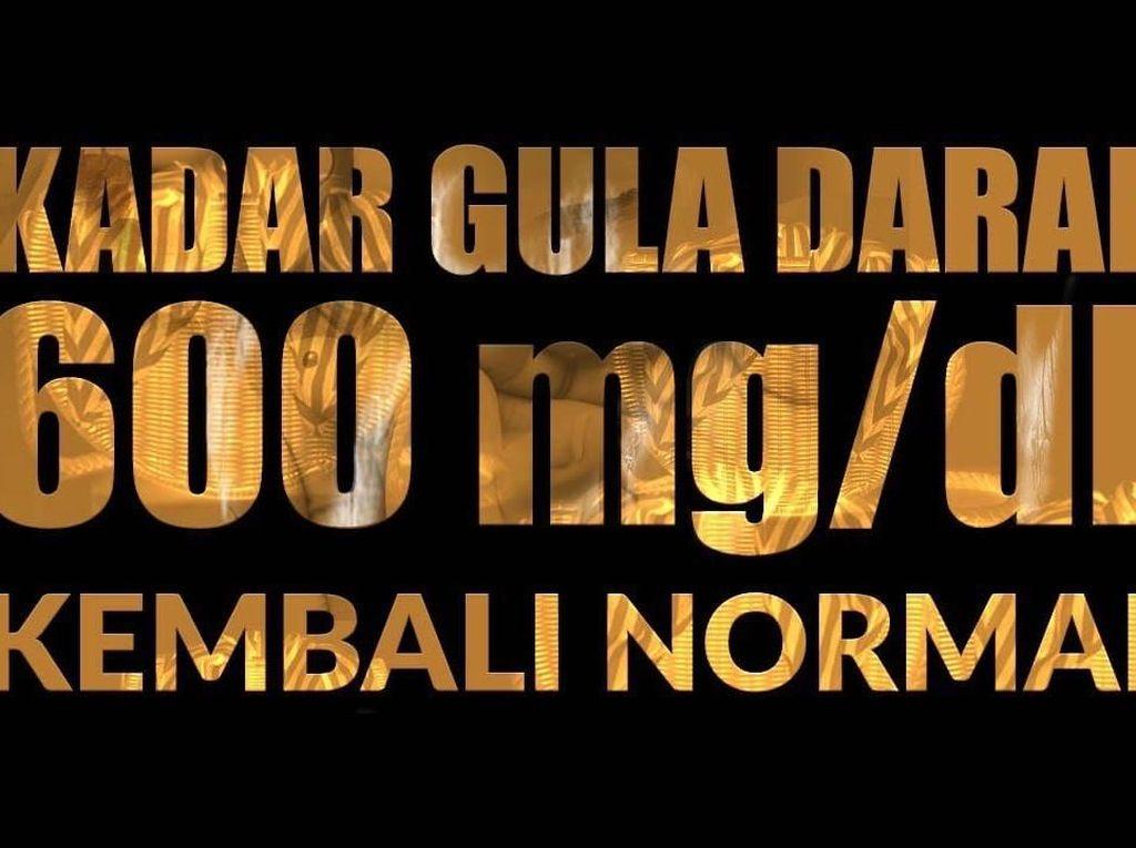 Cerita Eka Berhasil Normalkan Gula Darah dari 600 mg/dL Secara Alami