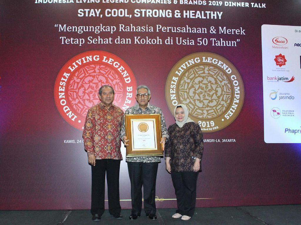 GT Raih Penghargaan Indonesia Living Legend Companies 2019