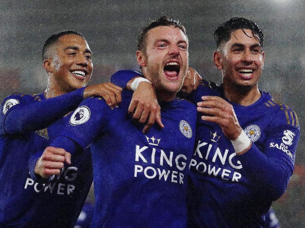 Sederet Rekor Usai Leicester Gilas Southampton 9-0
