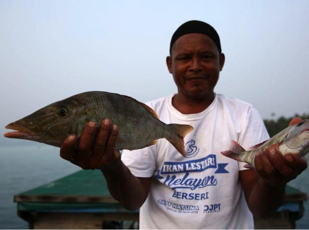 Saat Sebongkah Es Jadi Penentu Nafkah Nelayan Natuna