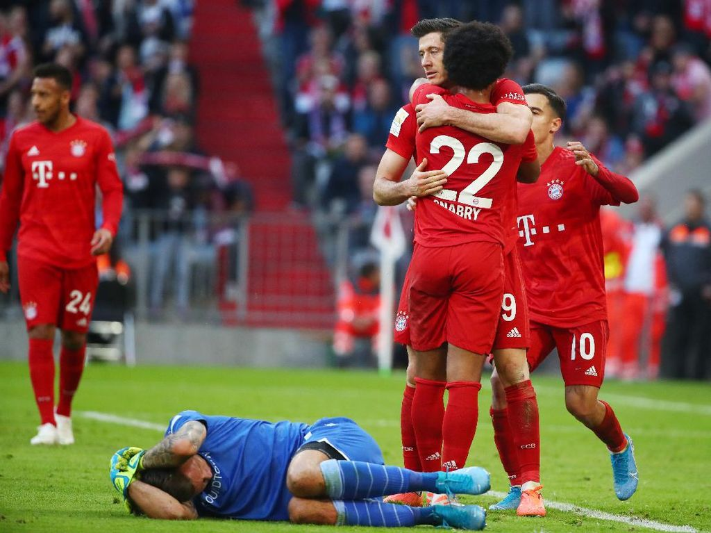Bayern Munich Vs Union Berlin: Die Roten Menang 2-1