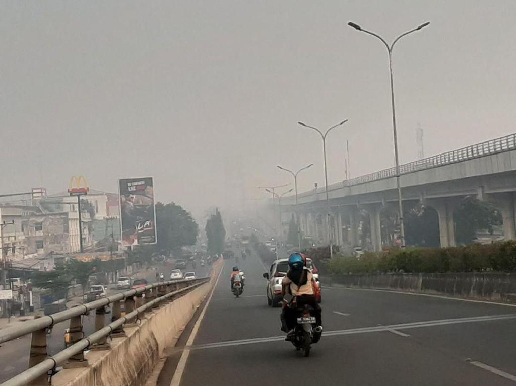 Kabut Asap Selimuti Kota Palembang, Jembatan Ampera Hilang lagi