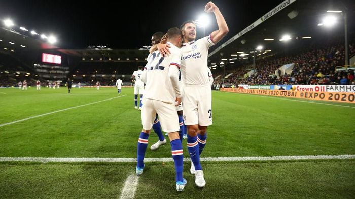 Pemainan indah Chelsea membaut Frank Lampard sejenak melupakan blunder lini belakang timnya (Foto:by Jan Kruger/Getty Images)