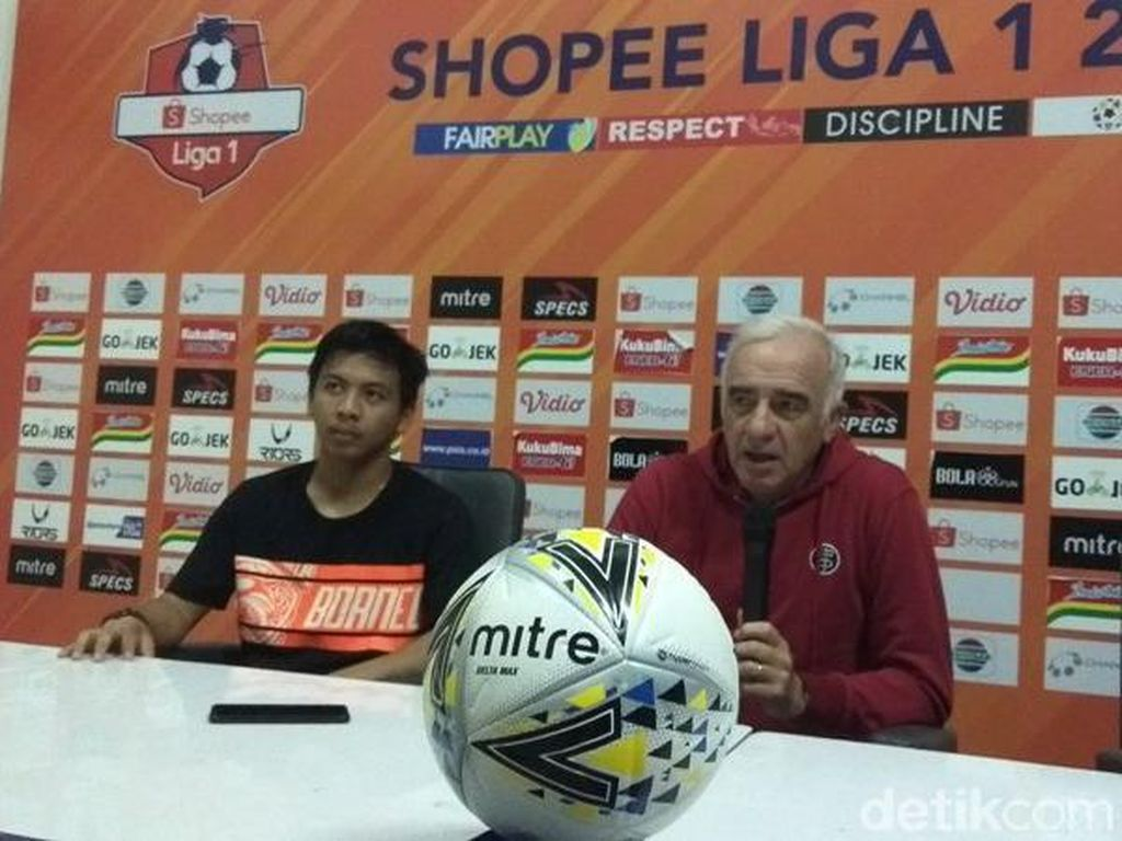 Borneo FC Bersyukur Bisa Curi Poin di Kandang PSIS