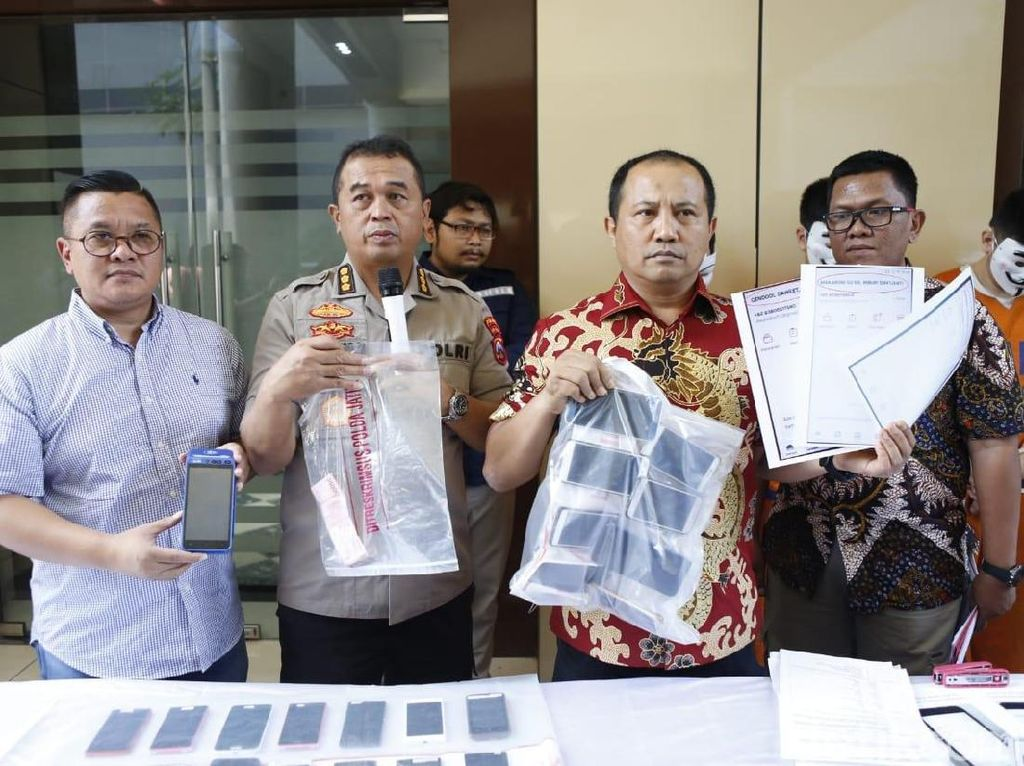 Komplotan Order Fiktif Dibekuk, Ojek Online Apresiasi Polisi