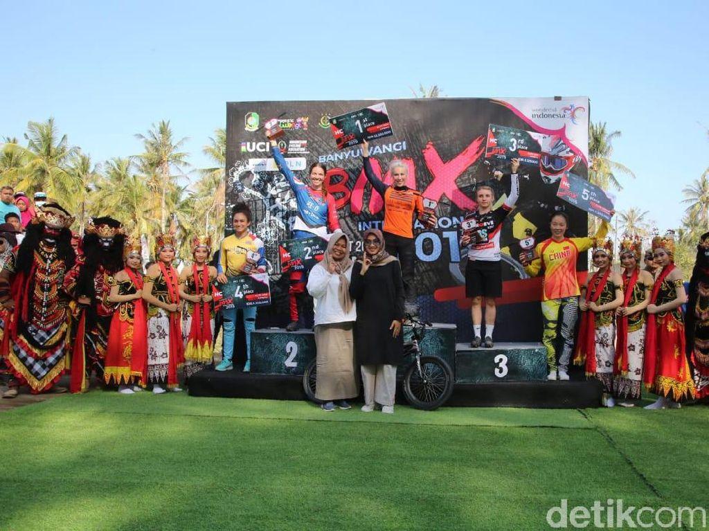 Pebalap Australia dan Inggris Menangi Banyuwangi International BMX 2019