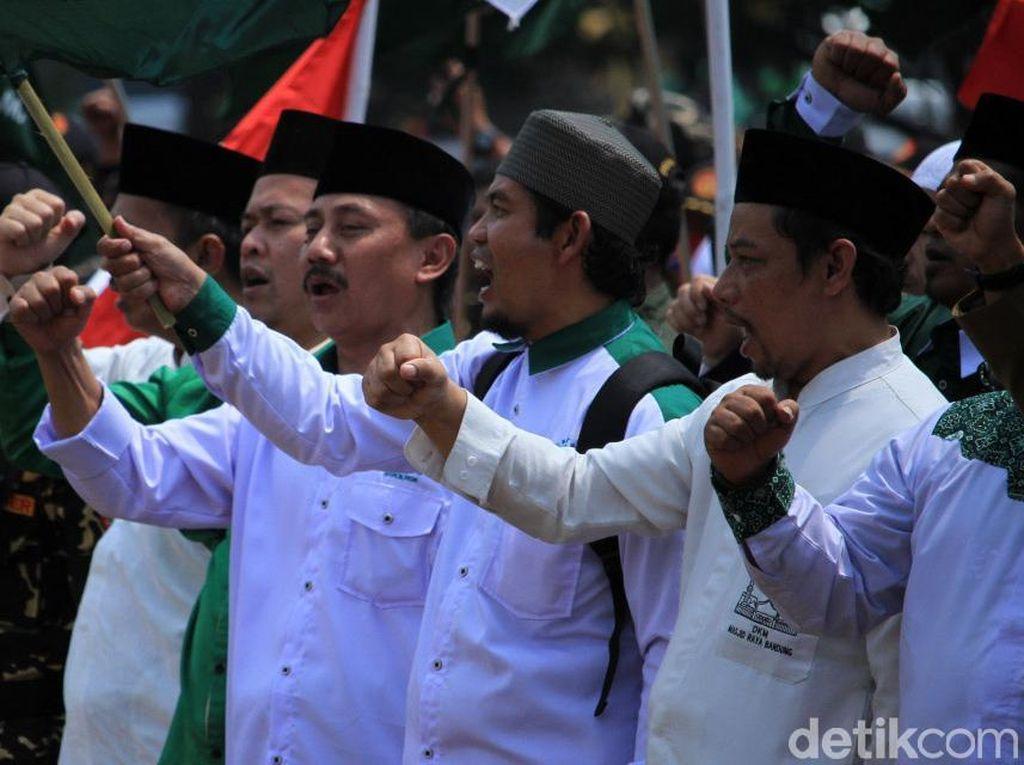Potret Perayaan Hari Santri Nasional 2019 di Bandung