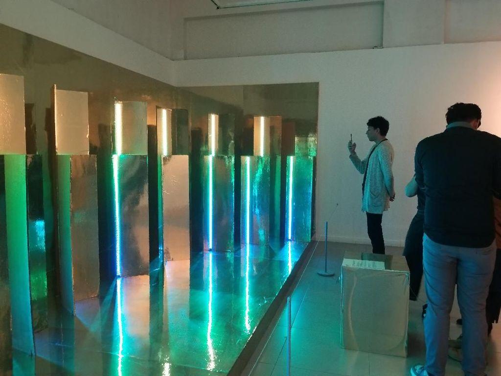 Keren! Karya Seniman Korea Ini Bisa Tahu Sistem Kerja Otak