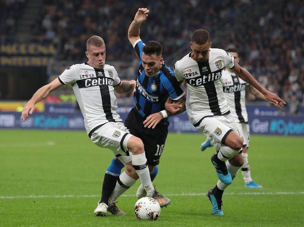 Inter Vs Parma: Imbang, Nerazzurri Gagal Rebut Puncak Klasemen