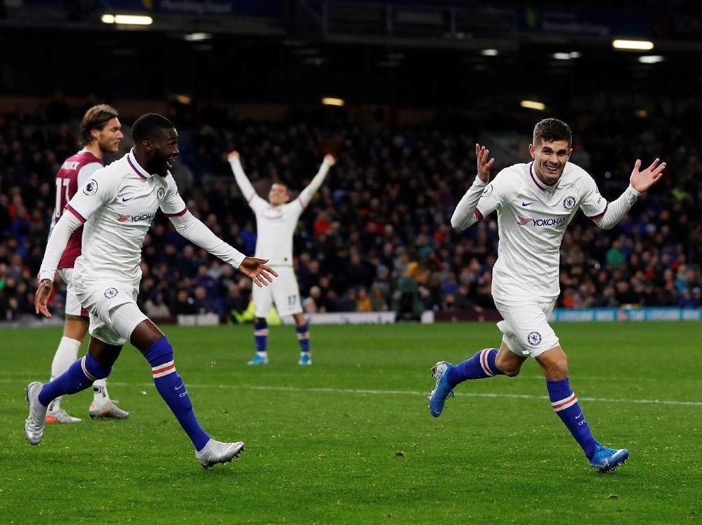Burnley Vs Chelsea: Hat-trick Pulisic Warnai Kemenangan The Blues 4-2