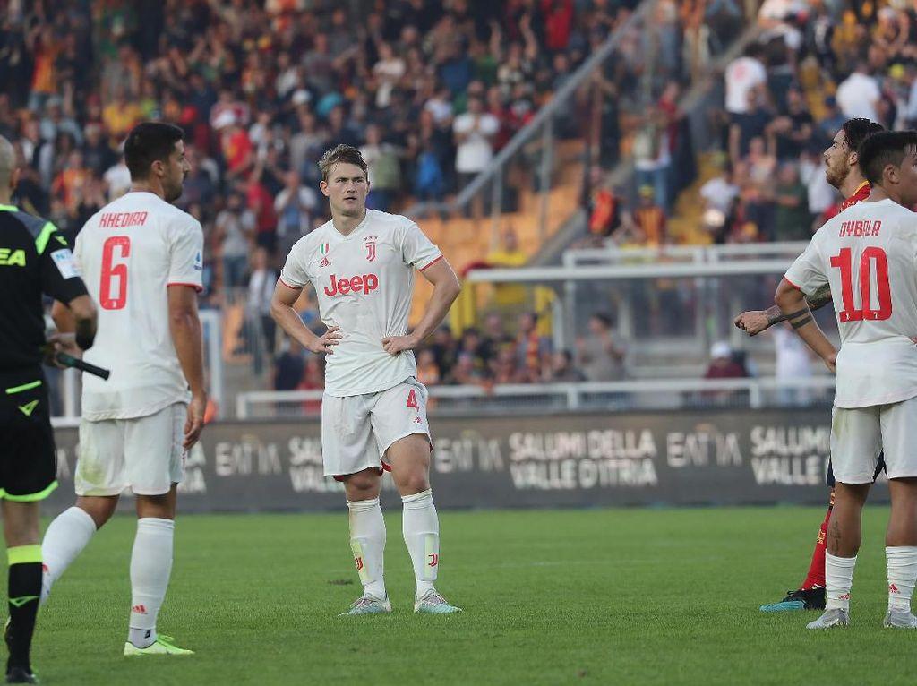 Juventus Terlalu Menganggap Enteng Pertandingan
