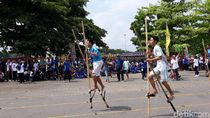 Ratusan Peserta Meriahkan Pekan Olahraga Tradisional di Bantul