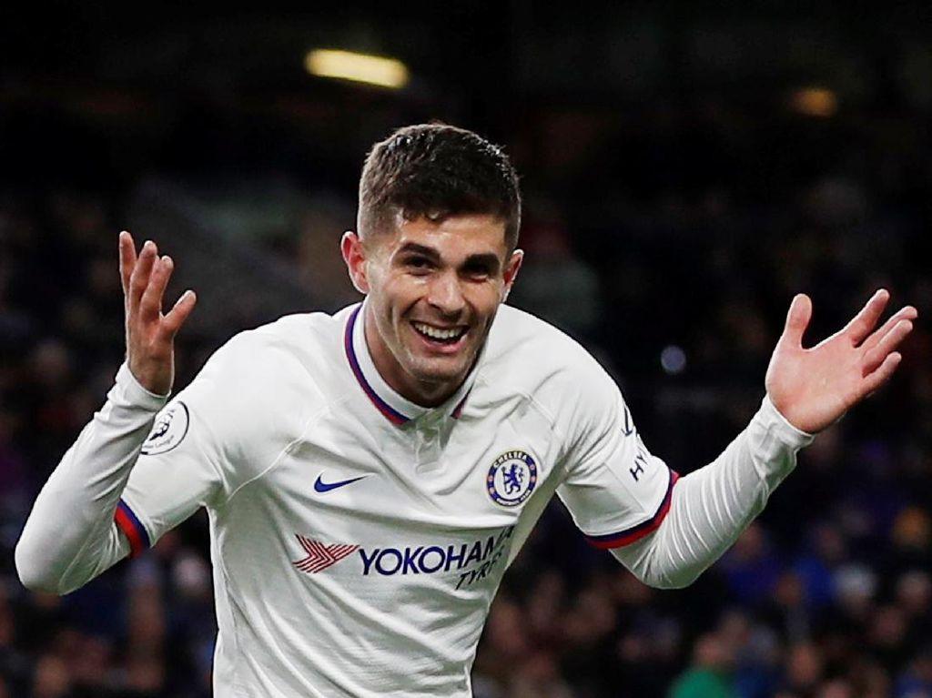 Bebas dari Bayang-bayang Hazard, Pulisic pun Melejit di Chelsea