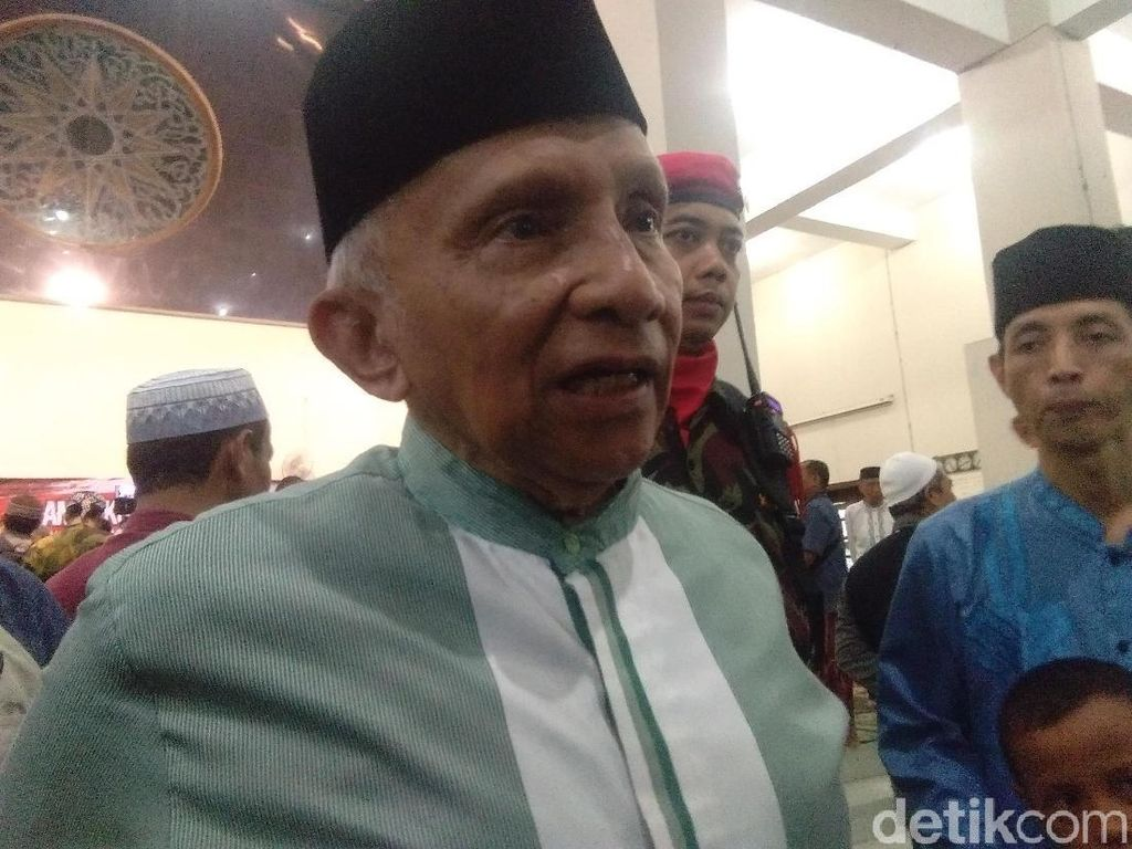 Amien Rais Akan Bikin Perhitungan dengan Kabinet Jokowi Setelah 6 Bulan