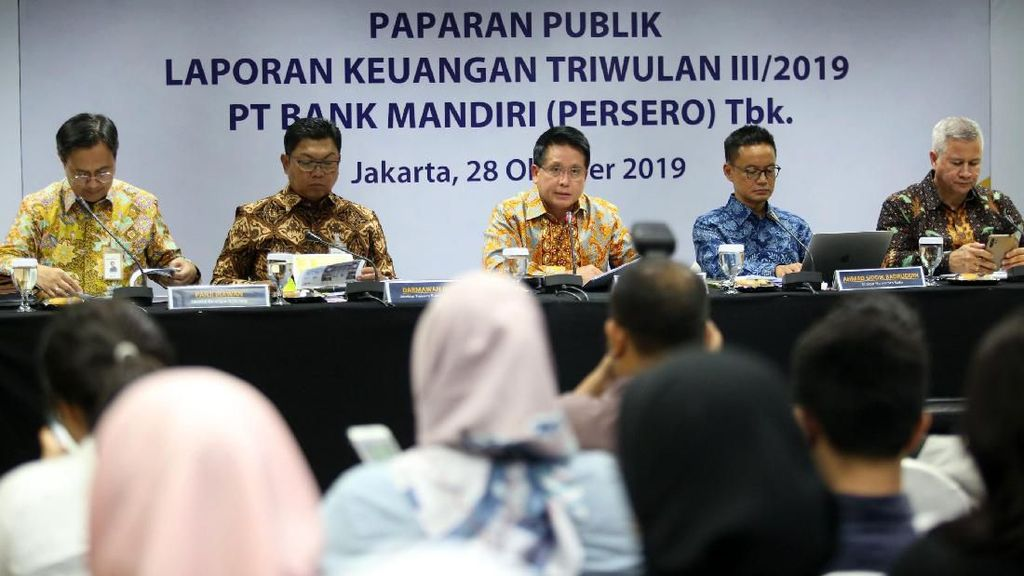 Bank Mandiri Raih Laba Rp 20,3 Triliun