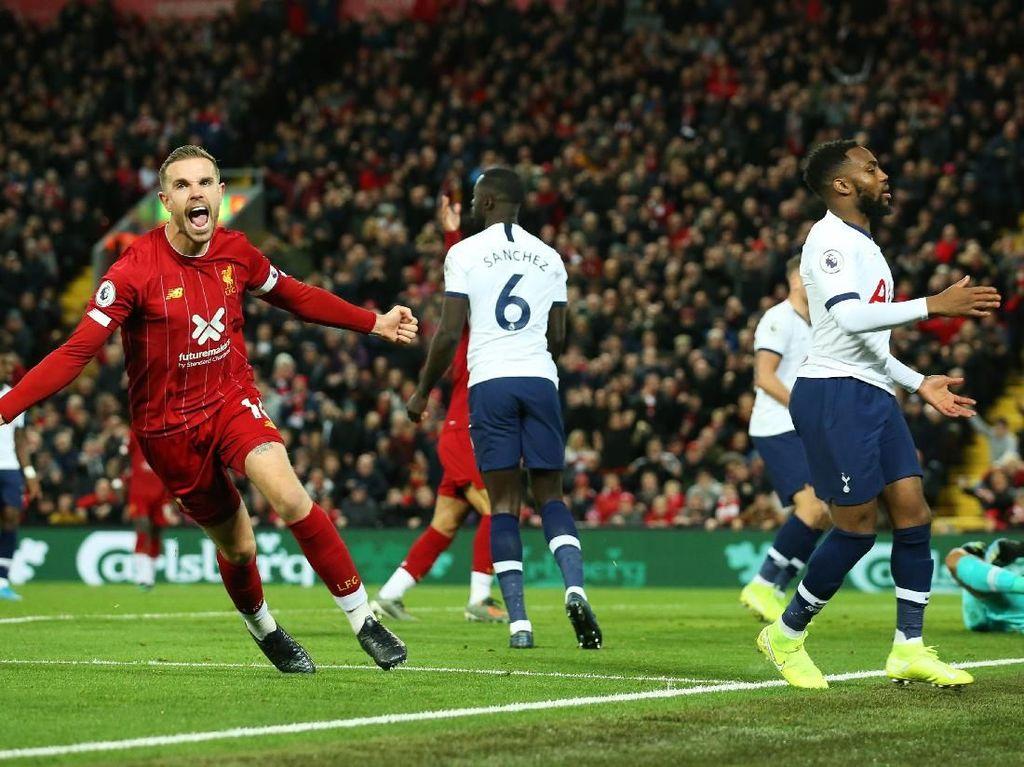 8 Fakta Menarik dari Laga Liverpool Vs Spurs