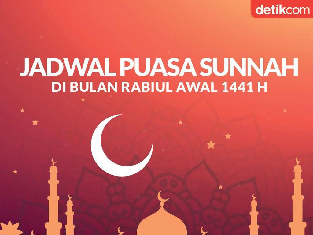 Catat! Ini Jadwal Puasa Sunnah di Bulan Rabiul Awal 1441 H
