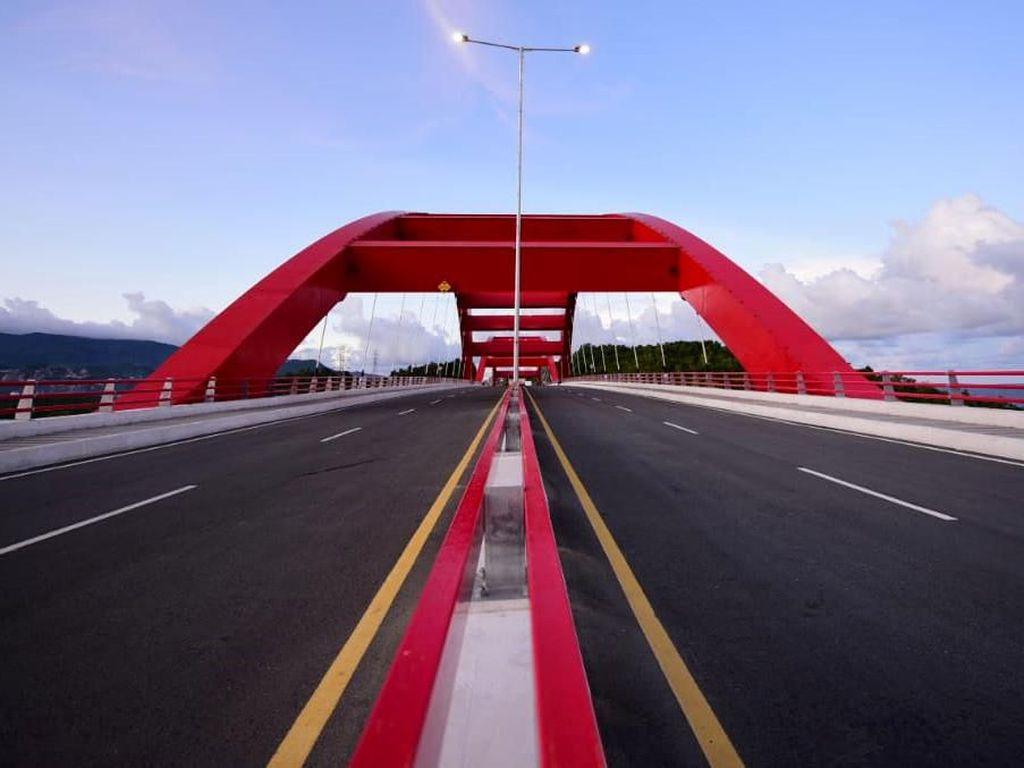 Diresmikan Jokowi, Ini Sumber Pembiayaan Jembatan Youtefa