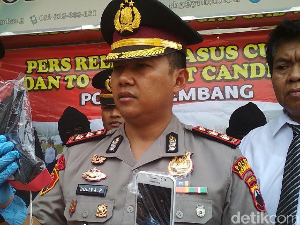Begal Berpistol di Rembang Dibekuk Polisi
