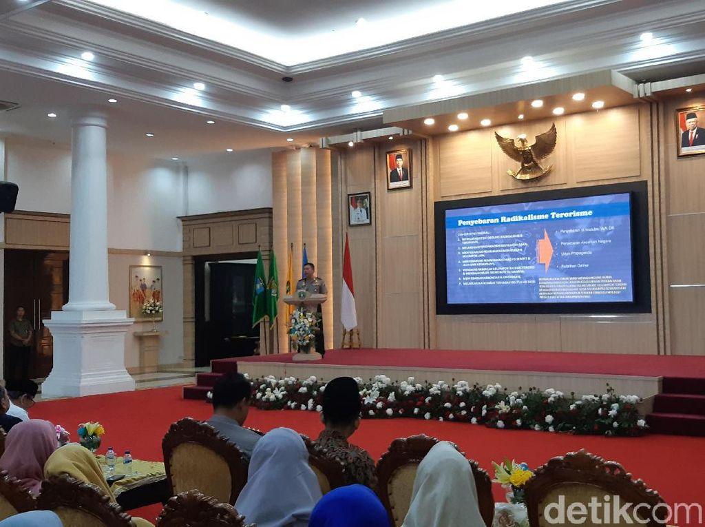 Kapolda Banten Ingatkan Pemuda soal Bahaya Penyebaran Terorisme di Medsos