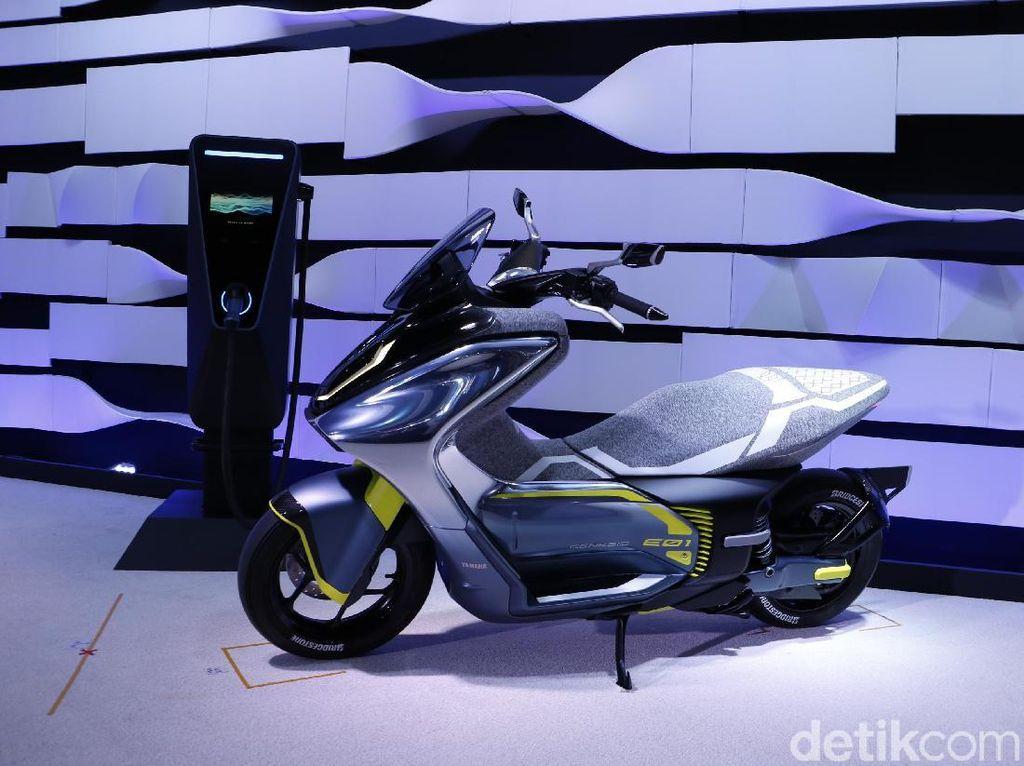 Nih, Yamaha Nmax Versi Listrik, Setara Motor 125 cc