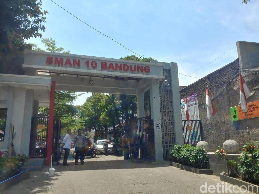 SMAN 10 Bandung Diserang Puluhan Gerombolan Bermotor