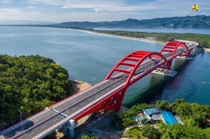 Jembatan Youtefa/Foto: Dok. Kementerian PUPR