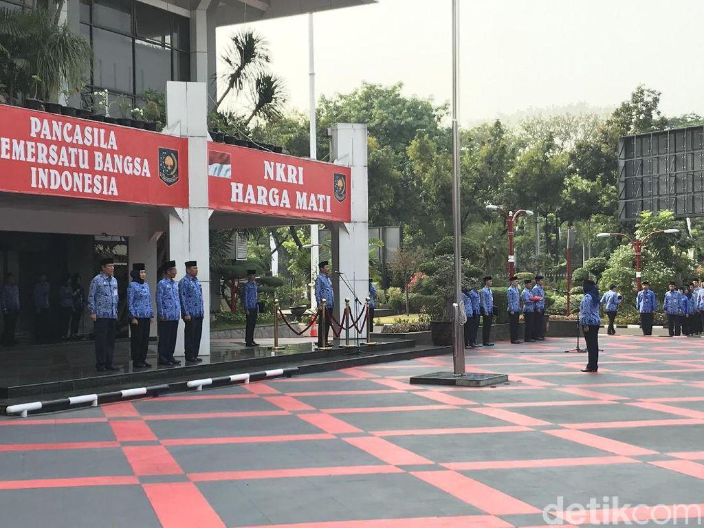 Tito Dampingi Jokowi ke Papua, Ini Suasana Upacara Sumpah Pemuda di Kemendagri