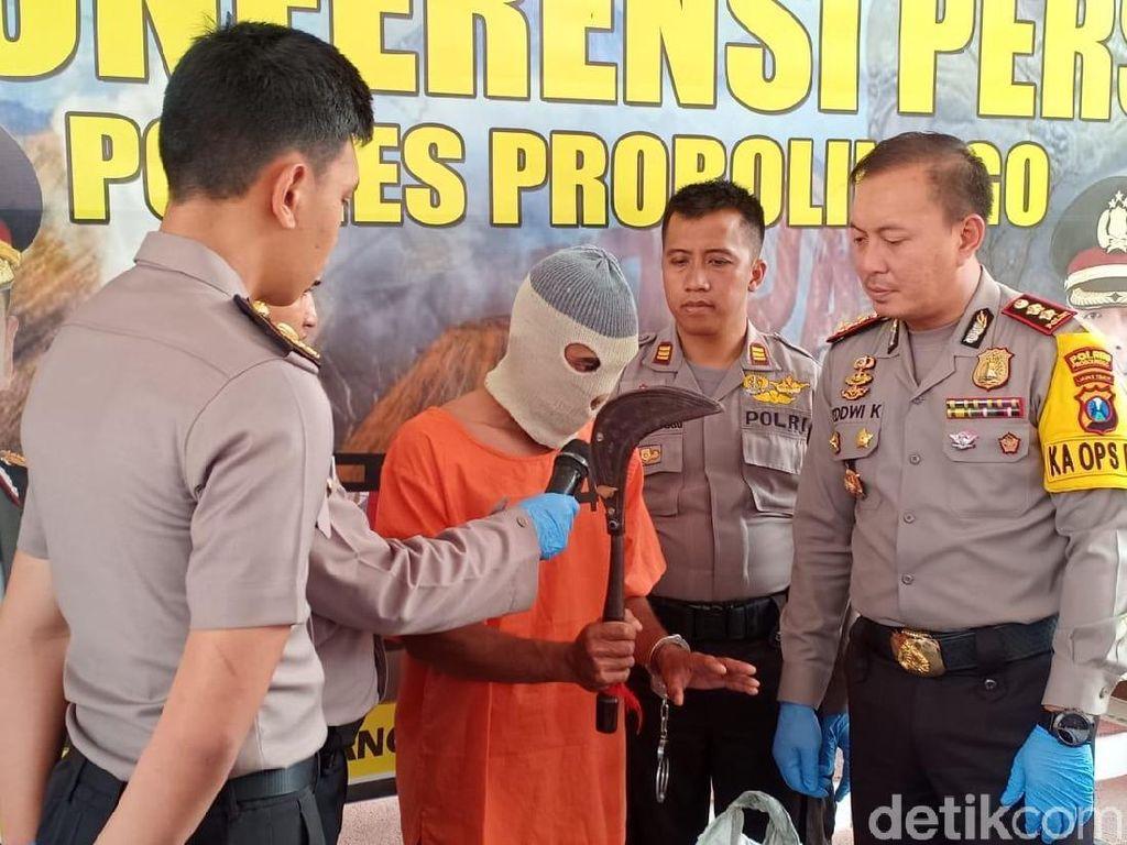 Pembacok Bapak di Depan Putrinya Ditangkap Kurang dari 6 Jam