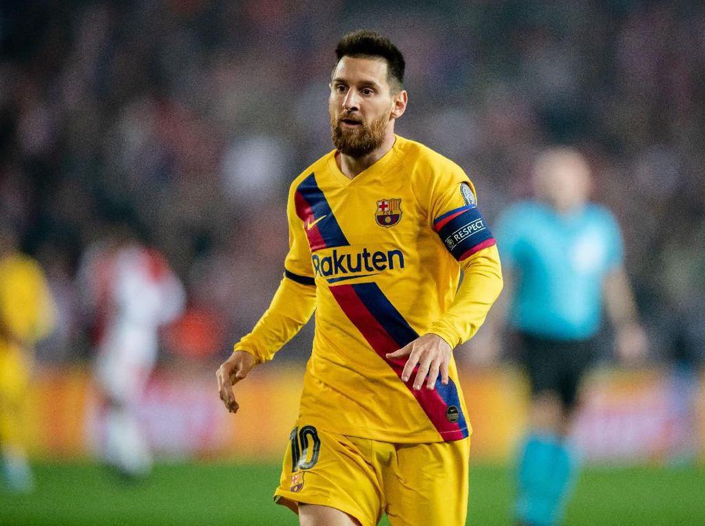 Messi Tak Suka Diganti, Mending Main dari Bangku Cadangan