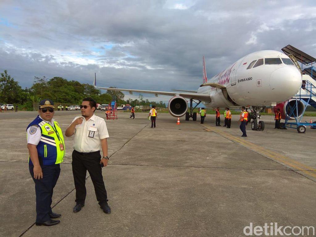 Bandara Timika Mulai Layani Penerbangan Komersial