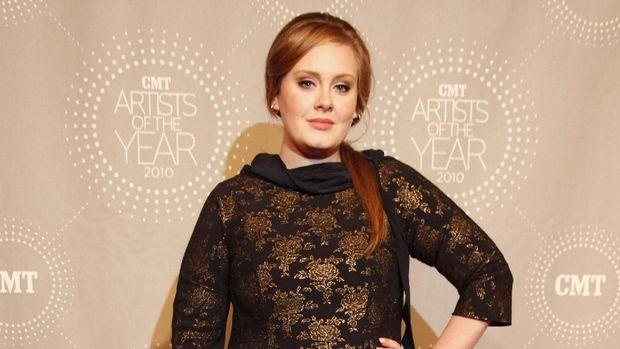 Adele sebelum diet
