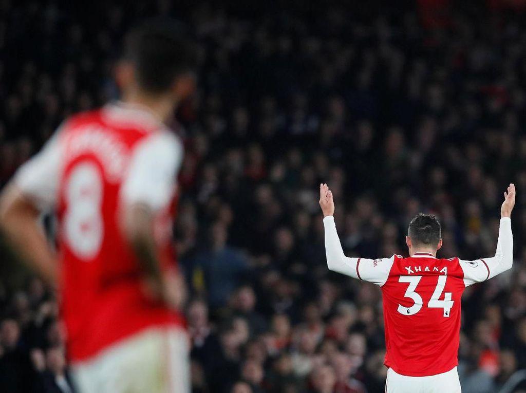 Arsenal Akan Lepas Xhaka di Bursa Januari?