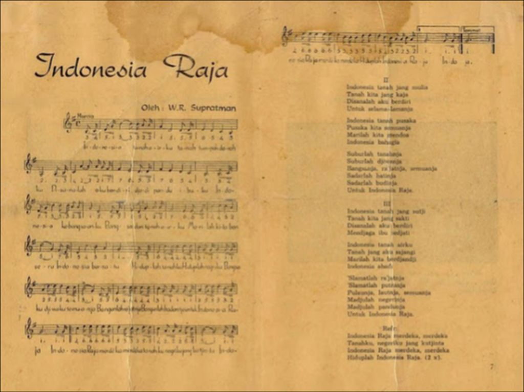 Sumpah Pemuda dan Indonesia Raya