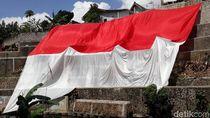 Potret Bendera Merah Putih Raksasa di Peringatan Sumpah Pemuda