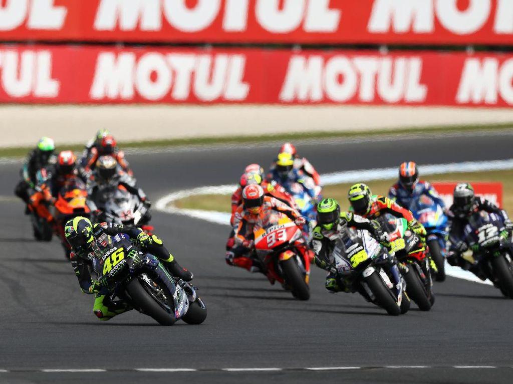 Sudah 400 Balapan, Rossi: Cuma Sayang Hasilnya