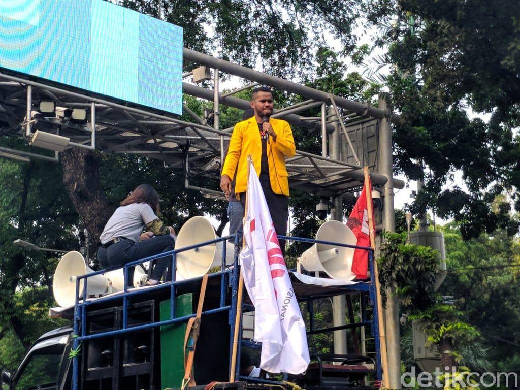 Mahasiswa UHO Kendari Demo di Jakarta, Minta Tewasnya Randi-Yusuf Diusut
