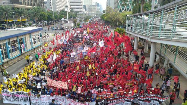 Ilustrasi demonstrasi