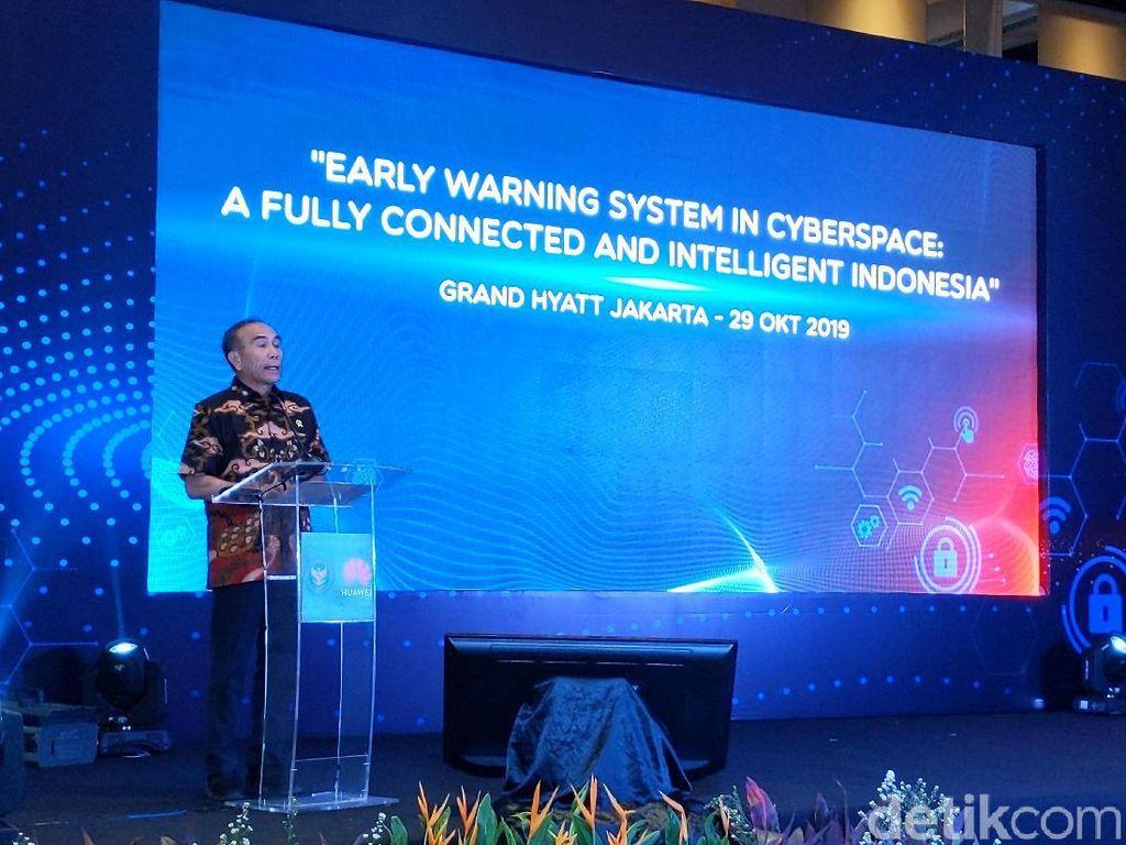 Ajak Huawei Kerja Sama, BSSN Jamin Soal Keamanan Data