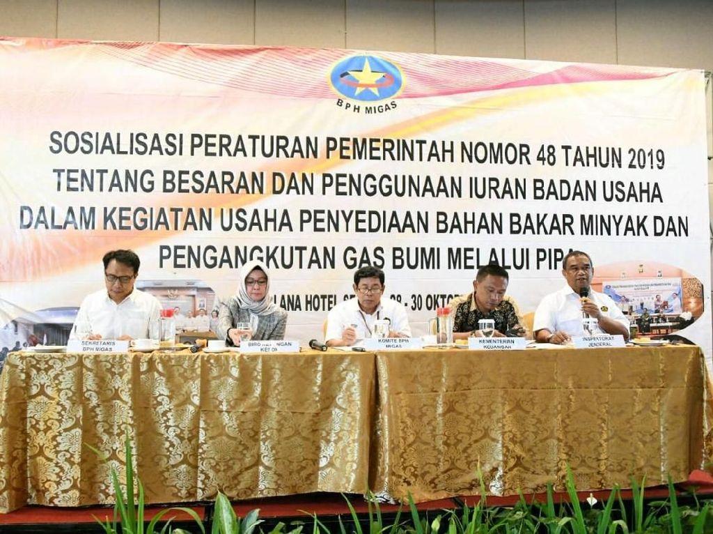 BPH Migas Sosialisasikan Tarif Baru PNBP Hilir Migas ke Badan Usaha