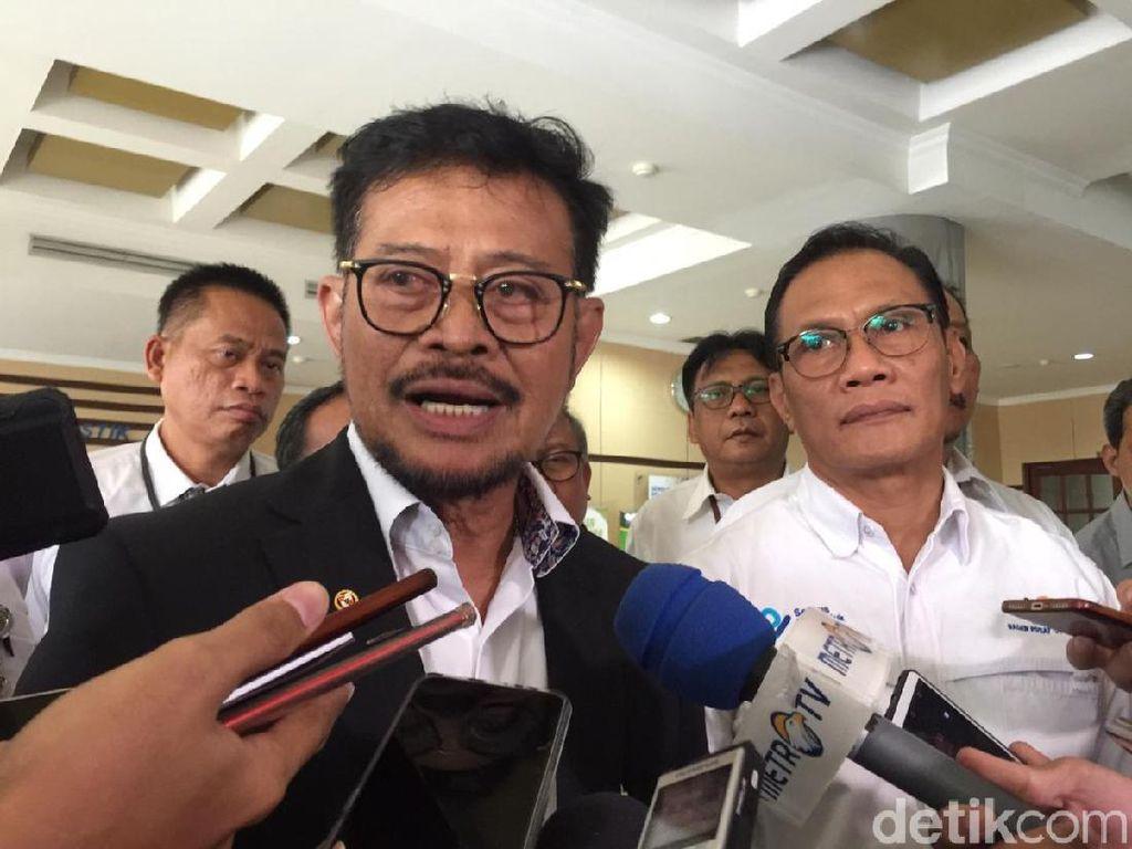 Syahrul Limpo Tegaskan Data Pangan Wajib Pakai Punya BPS!