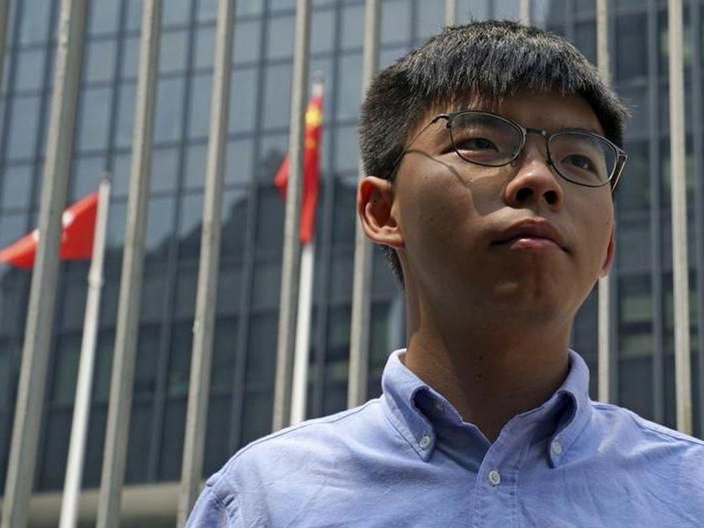 Aktivis Pro-Demokrasi Hong Kong Joshua Wong Dilarang Ikuti Pemilu