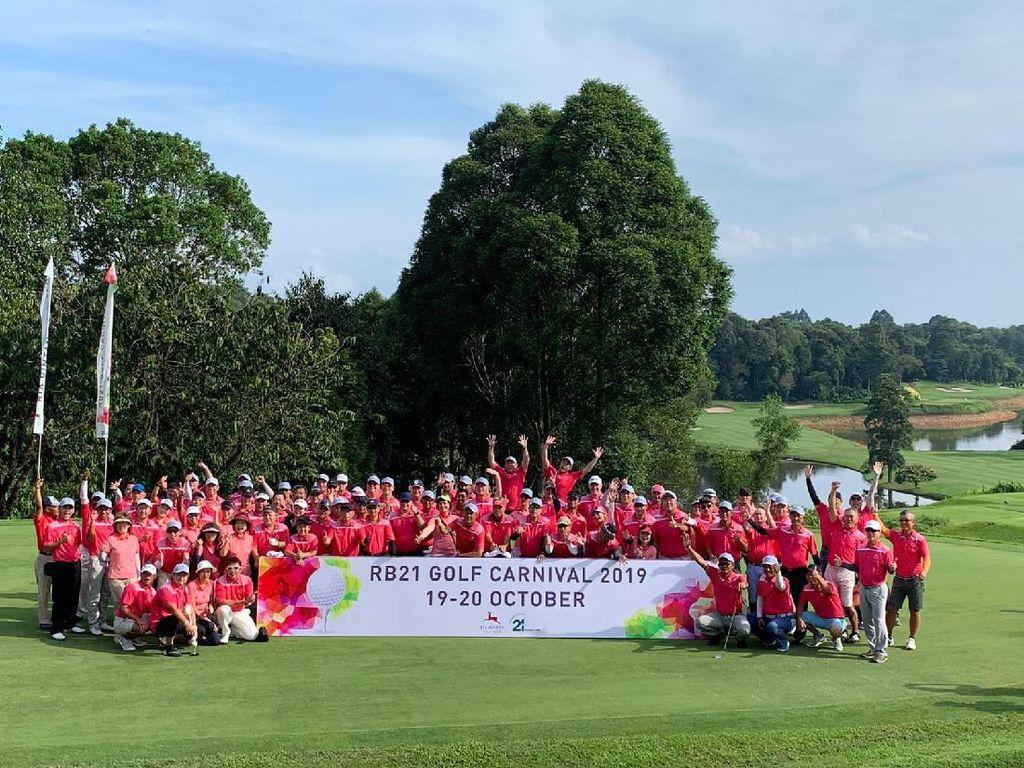 Rayakan Usia ke-21, Ria Bintan Golf Bikin Golf Carnival